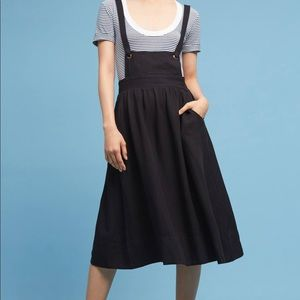 NWT Anthropologie Somerset Overall skirt, sz M